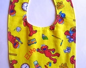 Toddler Bib Elmo School & Learning