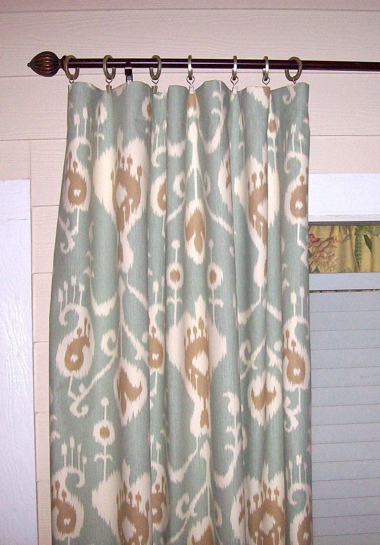 Sale Java Spa Ikat Curtain Panels