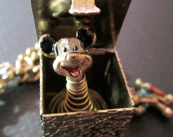 1950s Mickey Mouse Club Pop Up Charm Bracelet