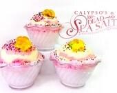 Grapefruit Sea Salt and Bath Bomb Ice Cream Sundae