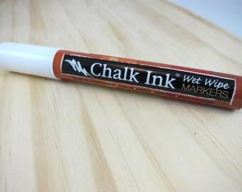 White Chalk Ink Marker | 6mm Chisel Tip Chalk Ink Marker for Chalkboard Art, Menu Boards, Glass Writing