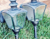 Set of two vintage Phil Hinkley & Co. light fixtures