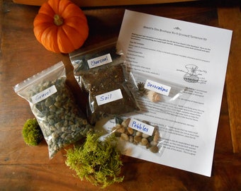 Do It Yourself Terrarium Kit (Without Container) Small and Medium Sized