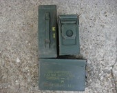 6 US Military Ammo Cans 30 Cal Size Geocaching box