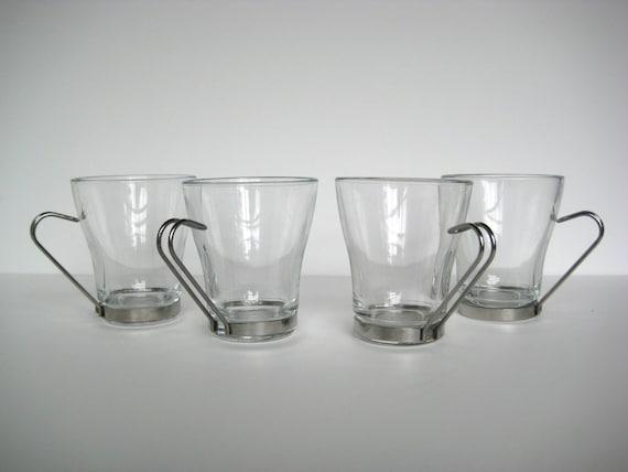 Italian Glass Coffee Maker : Italian coffee mugs glass coffee cup tea made in by NewbeesShop