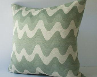 Ocean pillow -  cushion cover - accent pillow - throw pillow - pillow case -  20 x 20 inches