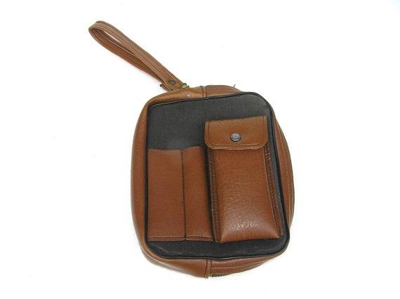 Mens Wristlet Vintage Wrist Bag Pouch Soviet Era Bags Collectibles USSR