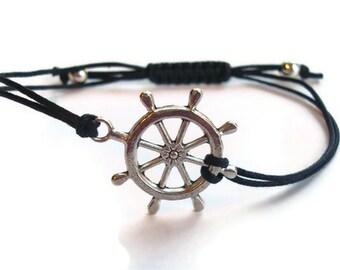 Nautical Rudder Wheel Bracelet