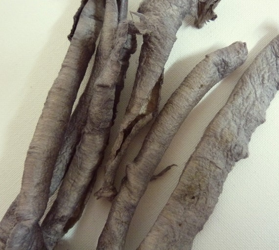 Dyed Silk for Surface Design and Felting. Silk Carrier Rods. Silver Gray