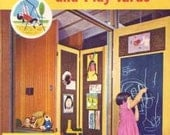 1960s MID CENTURY MODERN Children's Rooms Play Yards design book