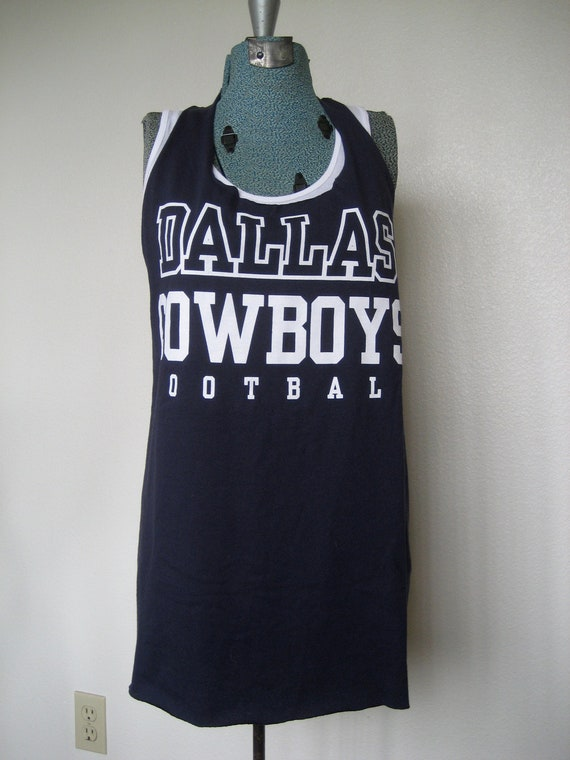 Dallas Cowboys Racerback Workout T-shirt
