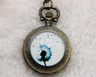 V1 Necklace Pocket watch Dandelion 2525M