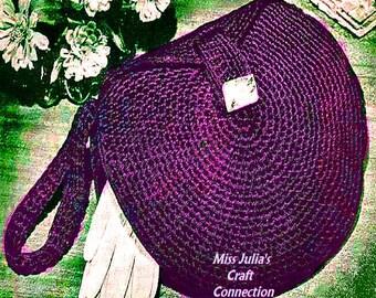 A BEST Vintage 1940s Classic Circle Handbag 277 PDF Digital Crochet Pattern