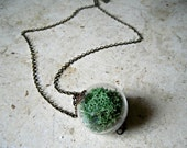 Moss Orb Necklace