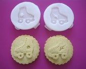 ROLLER Skate COOKIE STAMP recipe and instructions - make your own decorative cookies