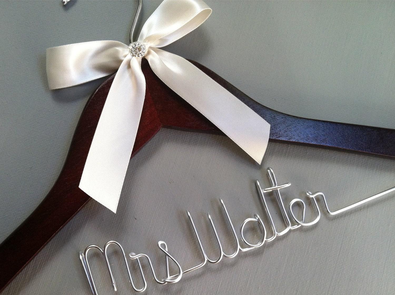 bridal wedding hanger bridal hanger bridal party custome hanger