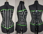 In the Lime Light Corset