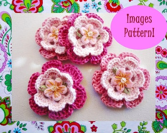 Serena Crochet Flower Pattern