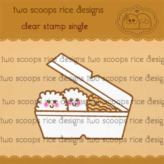 Plate Lunch Clear Stamp