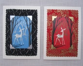 Set of 6 Christmas Cards - choice of designs