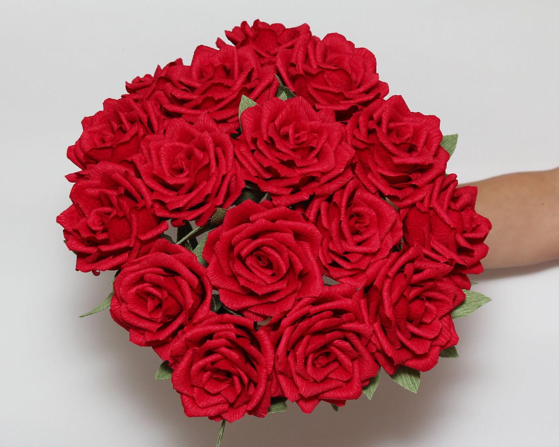 Wedding bouquets wedding flowers bridal bouquets paper flower for Big bouquets of flowers