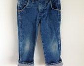 Boys Worn-In Wrangler Jeans