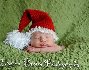 Custom Order Santa Sleeper Hat/photo prop