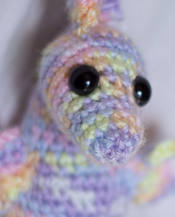 The Graceful Seahorse (Crocheted Stuffed Animal Toy)