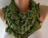 Infinity Scarf Loop Scarf Circle Scarf......small size infinity