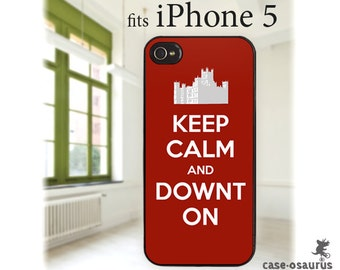 iPhone Case - Keep Calm and Downt On, for iPhone 6, iPhone 5/5s or iPhone 4/4s, Samsung Galaxy S6, Galaxy S5, Galaxy S4, Galaxy S3