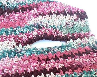 CUSTOM Keyhole Crochet Scarf