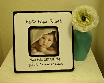 Personalized Baby Name Picture Frame