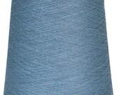 1 kg/ 35oz 100% LINEN YARN, Grayish Blue Linen Yarn, high quality yarn