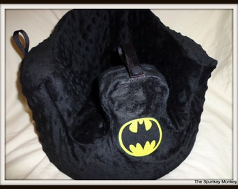 Black  Batman bumbo seat cover
