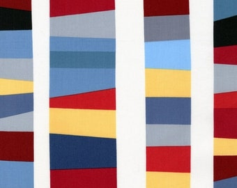 Kona Modern Quilts by Cynthya Frenette for Robert Kaufman- Stripe in Pacific - Yard Cut (ACK12807-60)