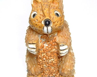 FAVORITE SQUIRREL SEED  Figurine