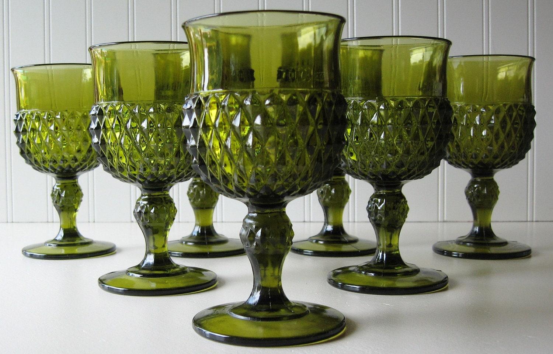 Vintage Glass Goblets 82