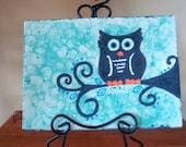 Owl Waveware Plate
