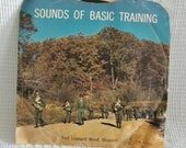 "Sounds of Basic Training, US Army Training Center, Fort Leonard Wood Missouri, vinyl record album, 7"" Jostens SBT-4, 33 RPM"