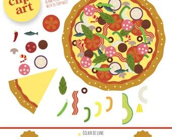 Pizza Clip Art Food Clipart