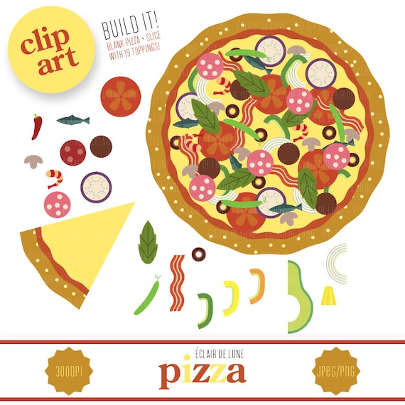 pizza clip art food clipart Pizza Toppings Template Pizza Toppings Worksheet