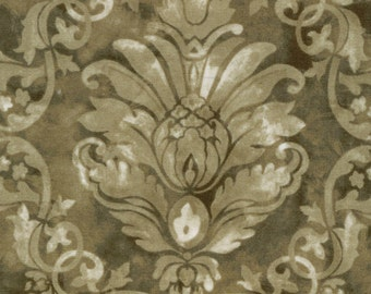Bella verona Collection by Wing and a Prayer for Timeless Treasures c8584 Oregano 1 yard