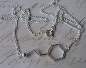 Biolojewelry - Neurotransmitter Necklace - Phenylethlamine