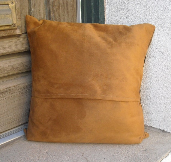 Southwestern Pillow Cover 18x18 to 24 x 24. Hardwearing but