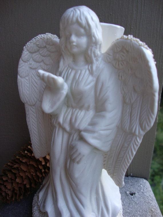 Praying Angel Candle Holder/ Home Decor/ Wedding Decor