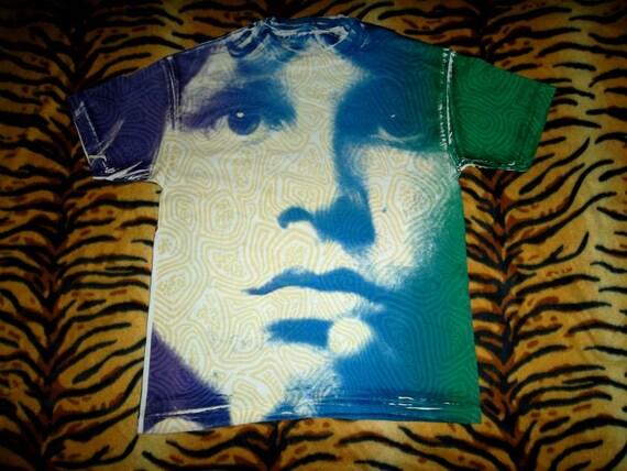 Vintage 1980s The Doors Jim Morrison Allover T-shirt