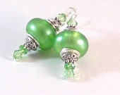 Spring Green Crystal Moroccan-Inspired Earrings, Green Earrings, Arabian-Inspired Jewelry, Summer Jewelry, Womens Fashion, Birthday Gifts