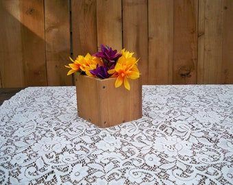 Country Centerpiece, Rustic Wood Center Piece, Wood Centerpiece, Rustic Centerpiece,Table Center Piece, Rustic Wood Box