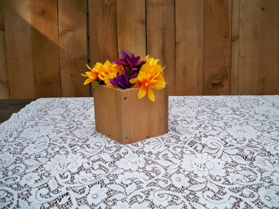 Items similar to country centerpiece rustic wood center