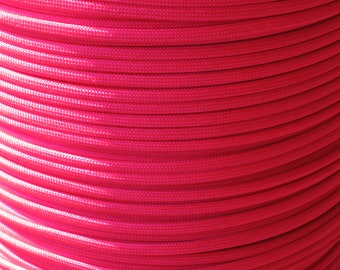 100 ft hank of Neon Pink 550 Paracord